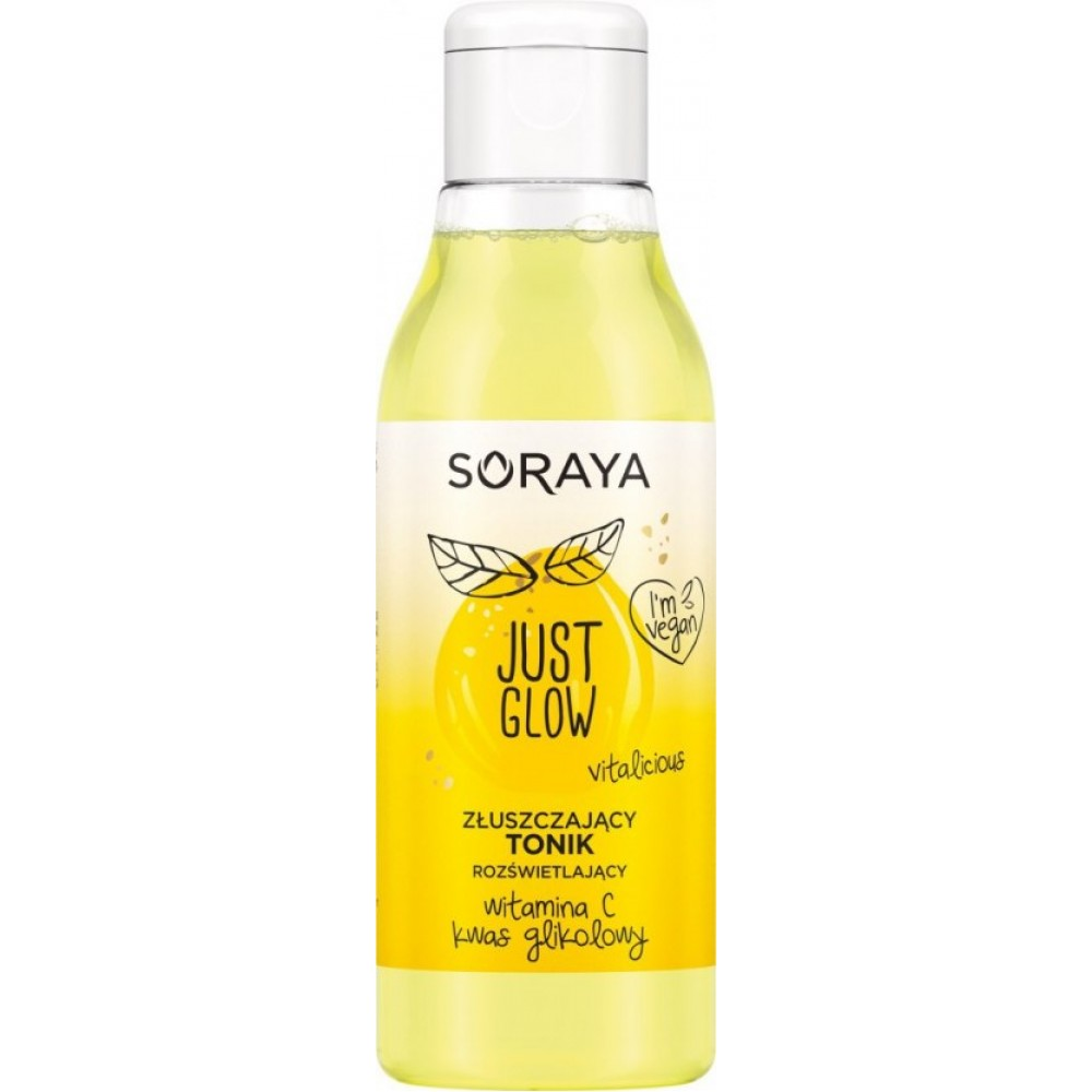 Soraya Just Glow Exfoliating Toner with vitamin C and glycolic acid 150ml